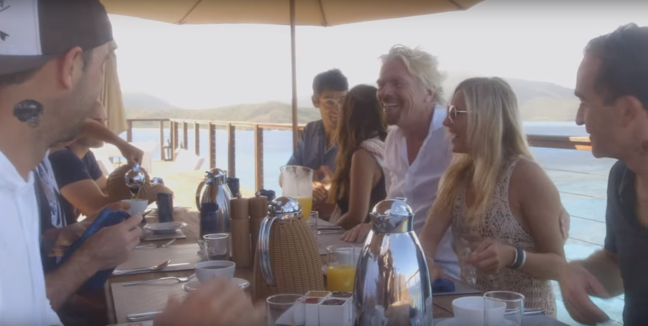 IMAGE-2 Day in the Life: Richard Branson