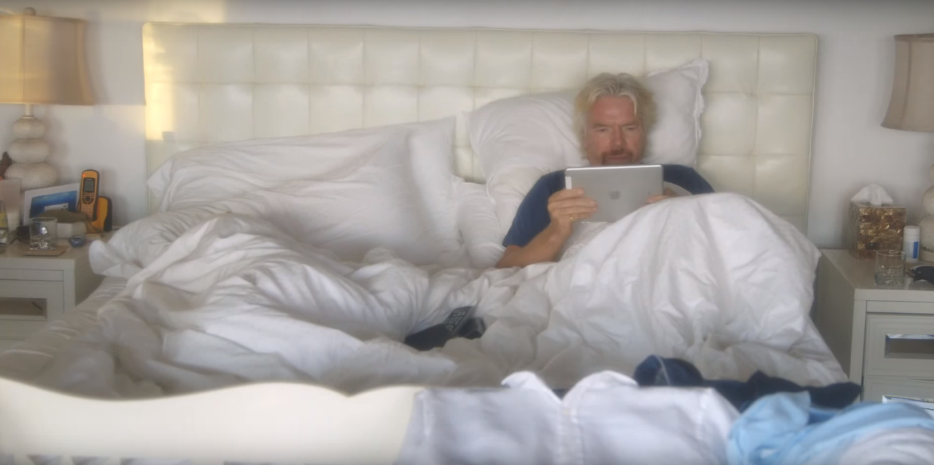 wakingup Day in the Life: Richard Branson