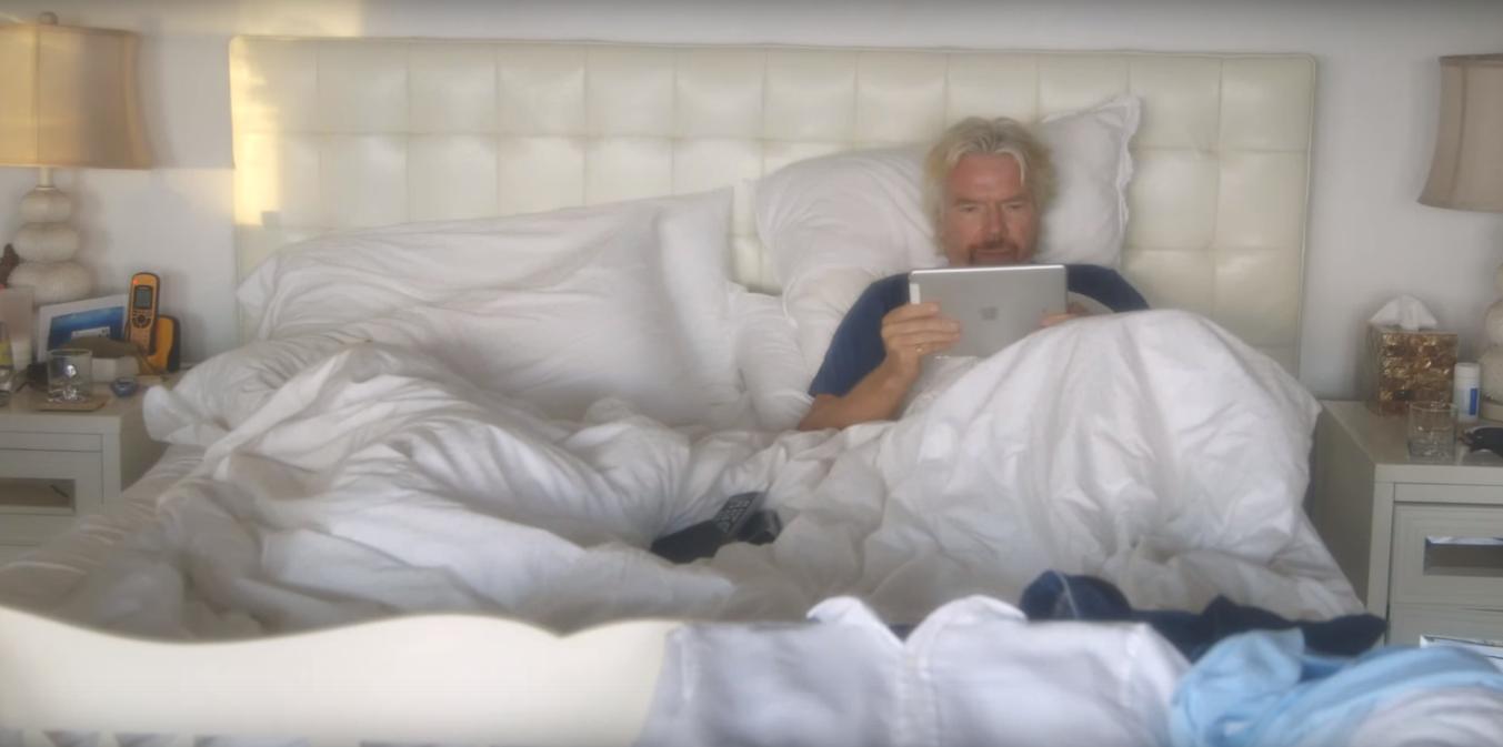 wakingup Day in the Life: Richard Branson