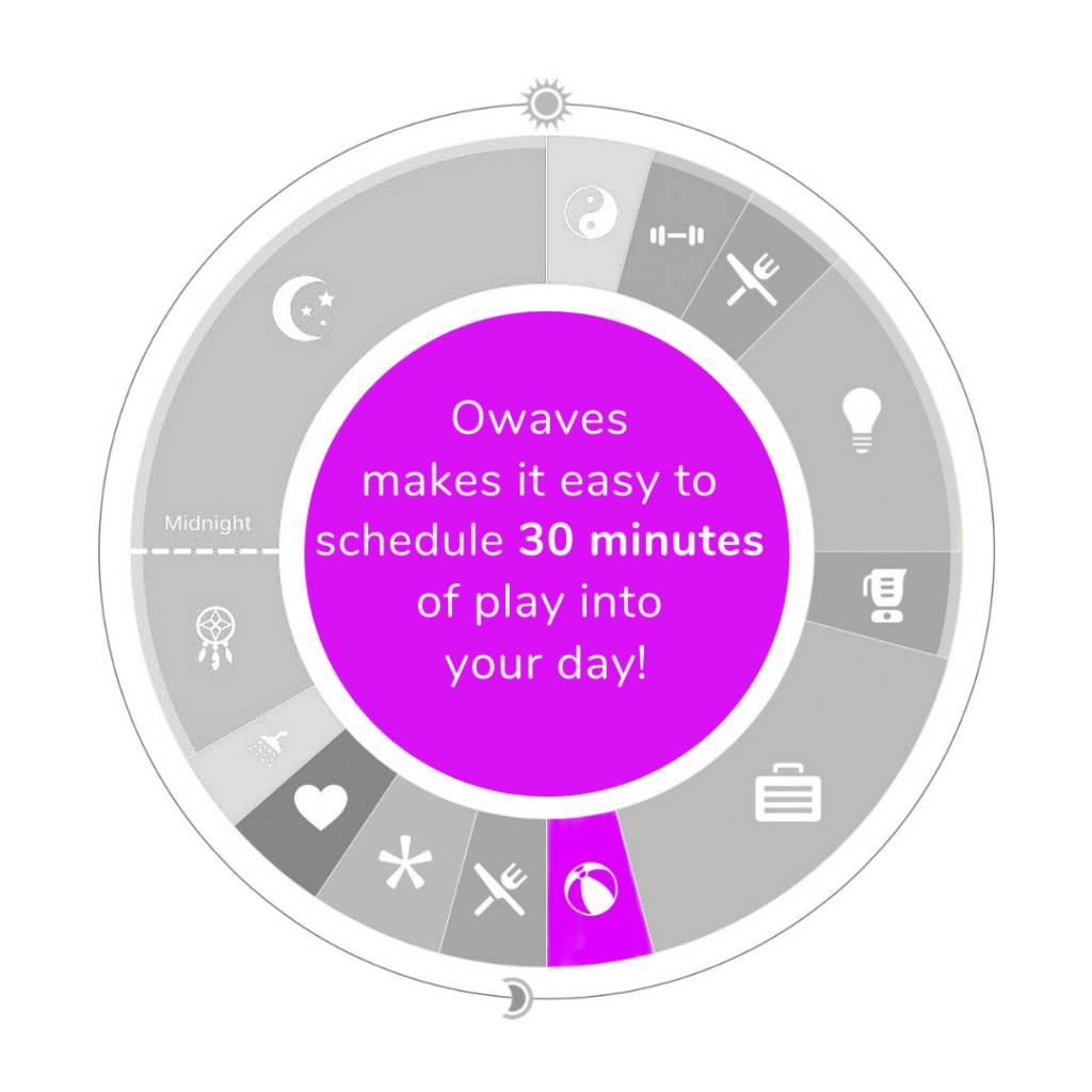 Play-for-Symbols-Blog-1024x1024 The Science of Our Symbols: Owaves' Eight Activity Icons day planning Healthy Lifestyle Owaves101 Time Blocking