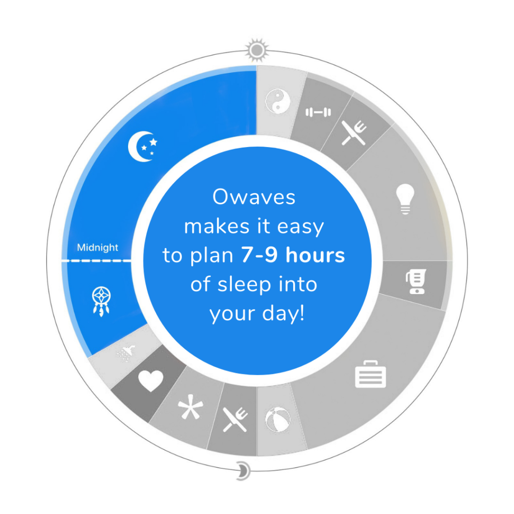Sleep-for-Symbols-Blog-1024x1024 The Science of Our Symbols: Owaves' Eight Activity Icons day planning Healthy Lifestyle Owaves101 Time Blocking