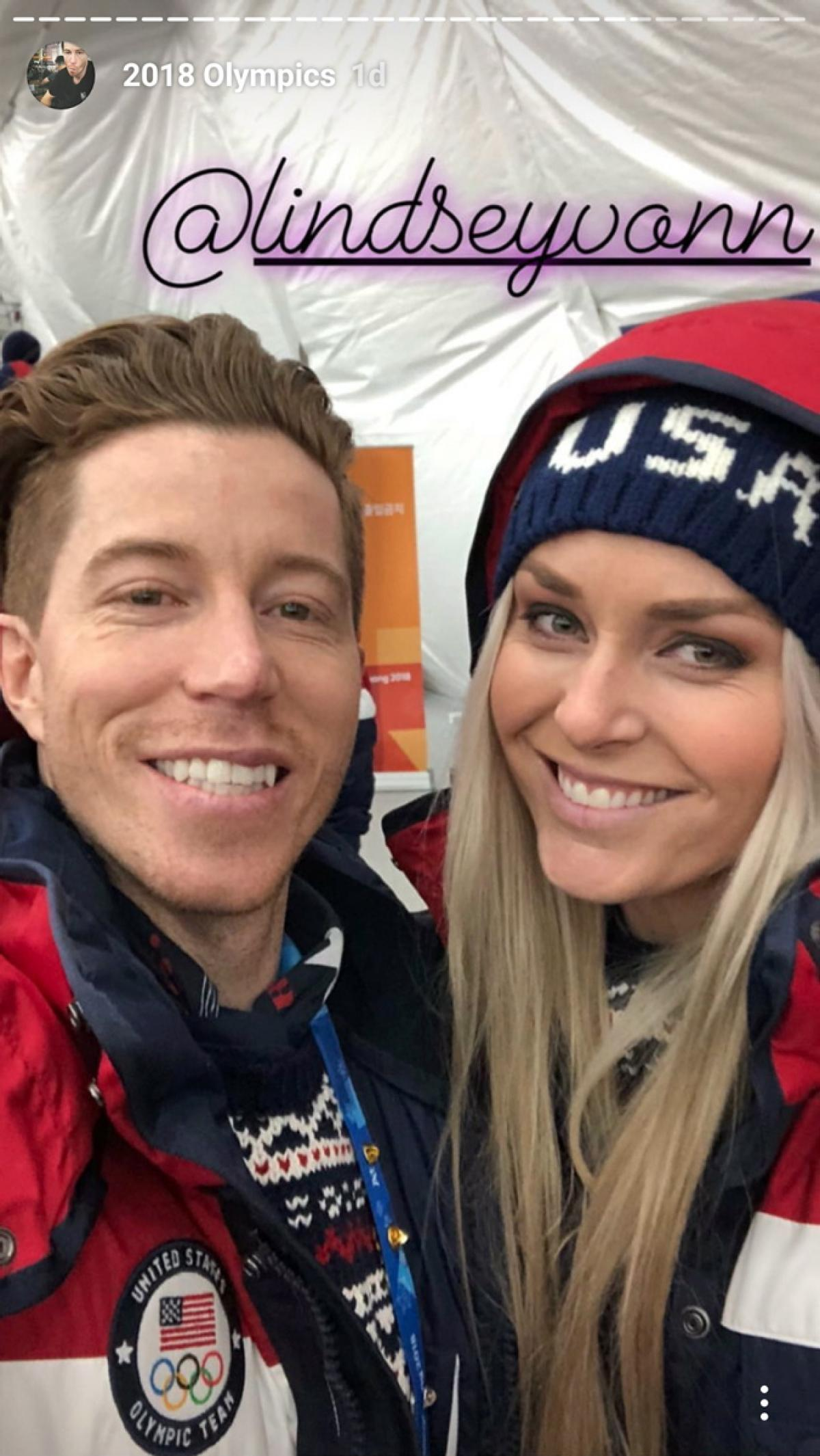shaun-white-lindsey-vonn-selfie-577x1024 Day in the Life  7355381619d